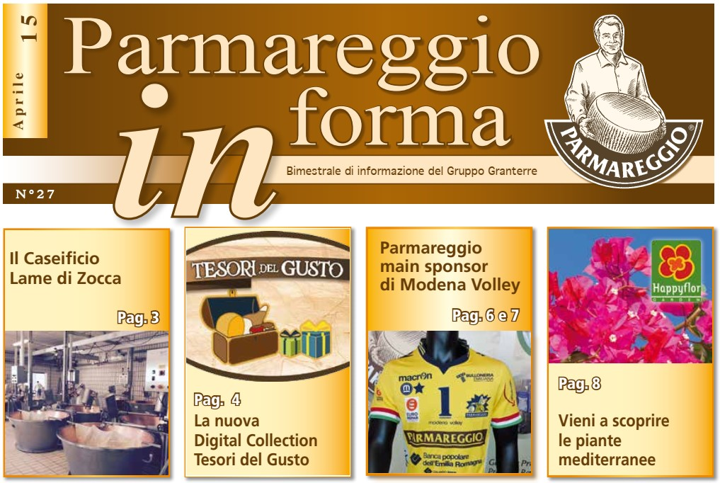 PARMAREGGIO INFORMA - Aprile 2015