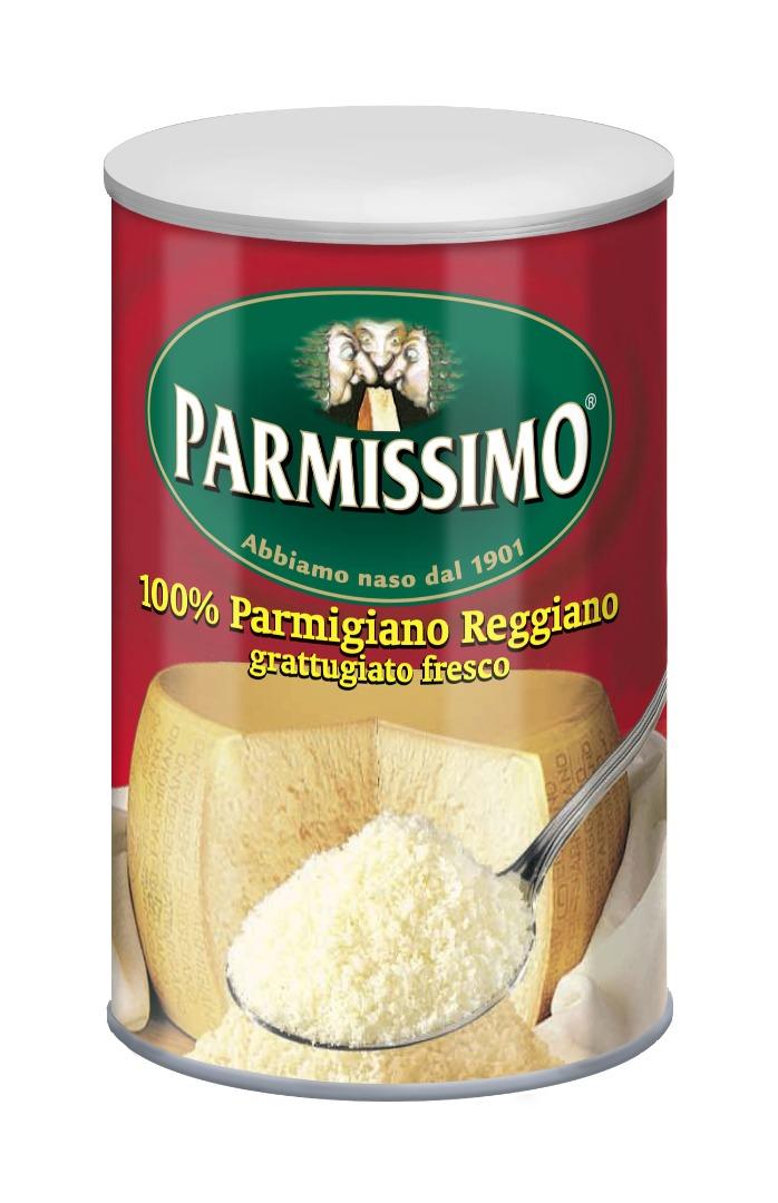 PARMIGIANO REGGIANO GRATTUGIATO PARMISSIMO IN BARATTOLO